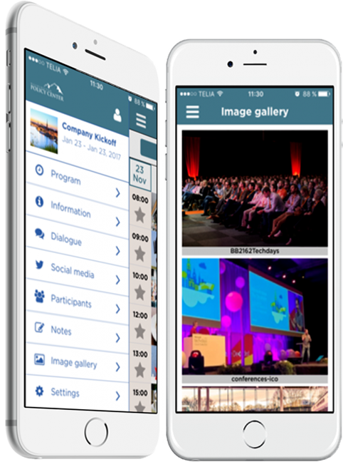 Create amazing events with your own custom branded event app